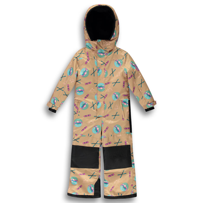Alpine One Piece Snowsuit - Beige |Kidz|