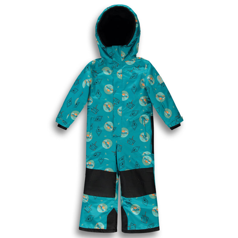 Alpine One Piece Snowsuit |Blue| Kidz