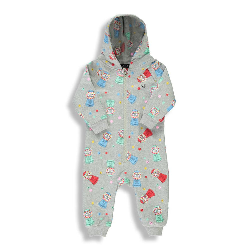 Shop online for this beautiful grey BRDZ Machine romper for boys, made by BIRDZ. Free shipping on orders over 75$ CA/US. Get 10% off your first order. Order online !