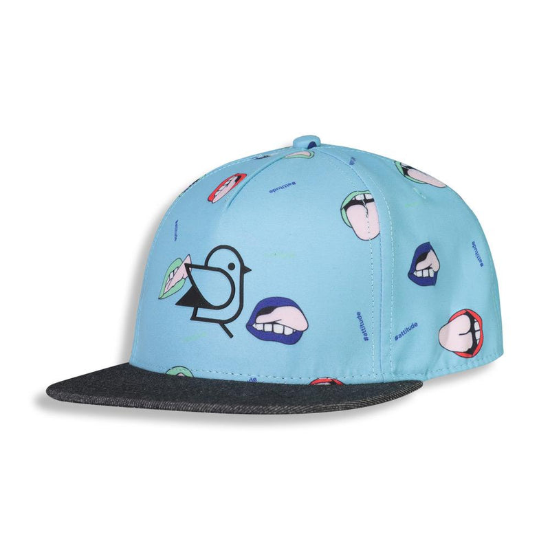Shop online for this beautiful blue Grimace cap, made for Boyz, by Birdz.  Get free shipping on all orders over $75 CA & over $100 US. Get 10% off your first order. Shop online.