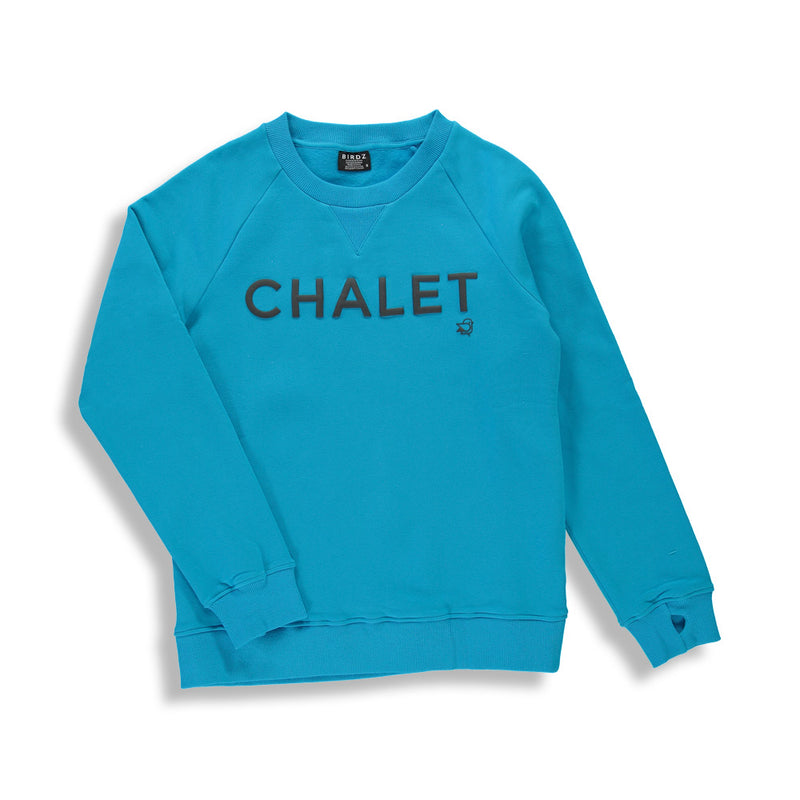 | BLUE | WOMAN CHALET SWEAT