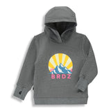Shop online for this beautiful dark grey Mountain Hoodie, a top made for girls, from BIRDZ. Free shipping on orders over 75$ CA/US. Get 10% off your first order. Order online !