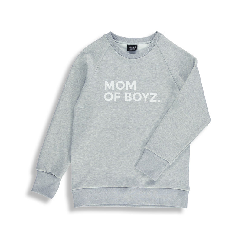 MOM OF BOYZ SWEAT |WOMAN|
