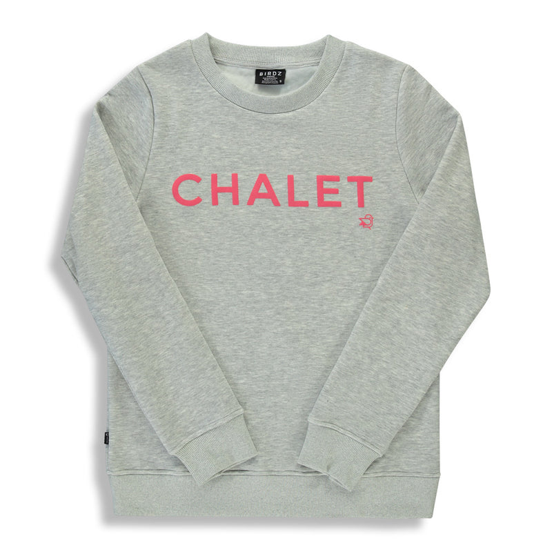 Shop online for this beautiful grey Chalet sweat, a top made for girls, by BIRDZ. Free shipping on orders over 75$ CA/US. Get 10% off your first order. Order online !