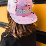 Shop online for this beautiful lilac Grimace cap, made for Girlz, by BIRDZ. Get free shipping on all orders over $75 CA & over $100 US. Get 10% off your first order. Shop online.