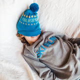 Shop online for this beautiful blue happy hat, made for Boyz, from BIRDZ.  Get free shipping on all orders over $75 CA & over $100 US. Get 10% off your first order. Shop online.