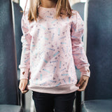 Shop online for this beautiful pink Lipsticks crew neck from Birdz. Designed for Girls. Free shipping on orders over 75$ CA & over $100 US. Get 10% off your first order. Order online !