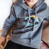 Shop online for this beautiful dark grey Mountain hoodie, a top made for Boyz, from BIRDZ. Free shipping on orders over 75$ CA & over $100 US. Get 10% off your first order. Order online !