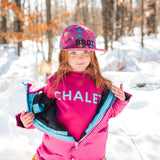 Shop online for this beautiful Fuchsia Pine floral cap, made for girls, by BIRDZ.  Get free shipping on all orders over $75 CA & over $100 US. Get 10% off your first order. Shop online.