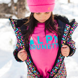 Shop online for this beautiful multicolor Leopard one piece snowsuit, made for girls, from BIRDZ. Free shipping on orders over 75$ CA & over $100 US. Get 10% off your first order. Order online !