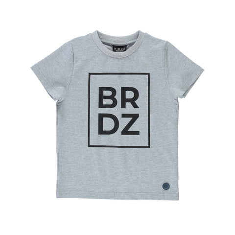 BRDZ TEE | LIGHT GREY |