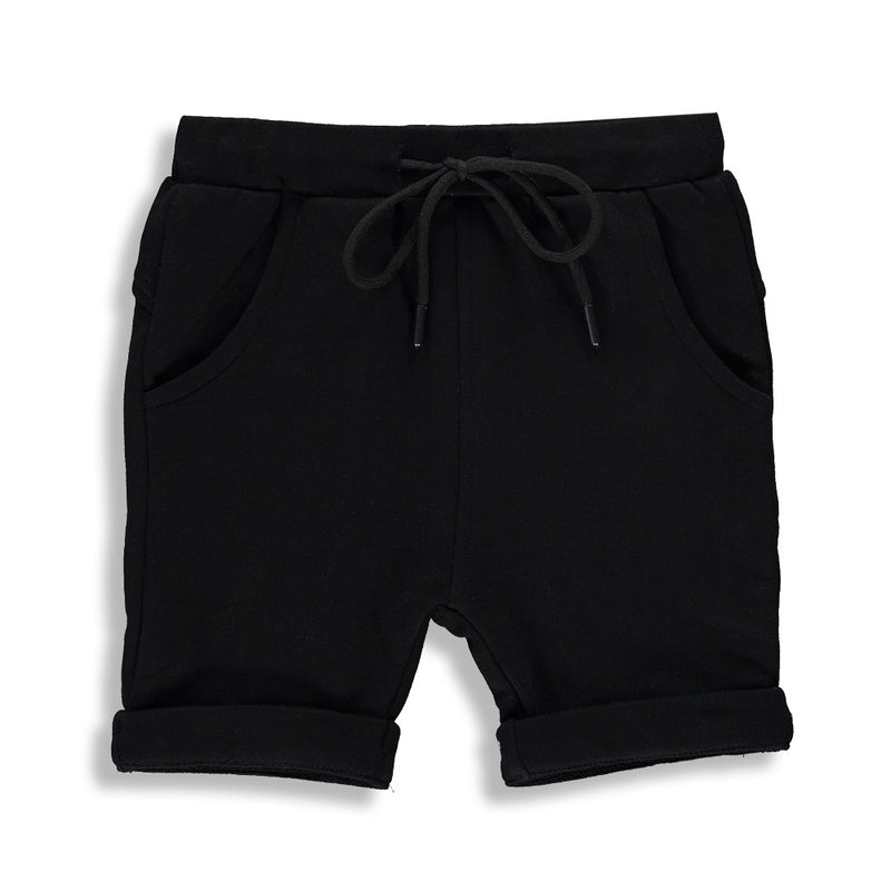 LONG SHORTS | BLACK |