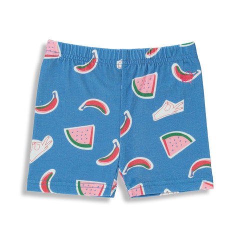 BIKER SHORTS | WATERMELON |