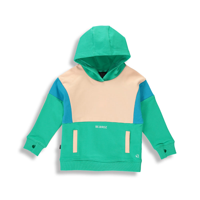 Colorblock |Aqua Green| Kidz