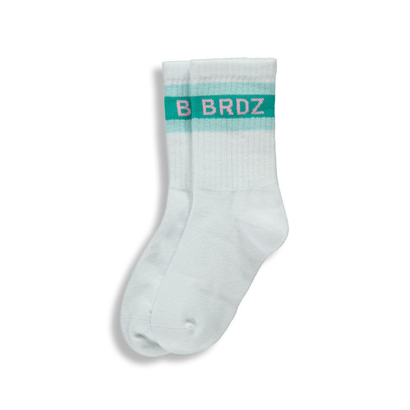Shop online for these beautiful Stripped vintage white socks, made for adults, by BIRDZ. Get 10% off your first order. FREE SHIPPING on all order over $75 CAD & over $100 USD. shop online!