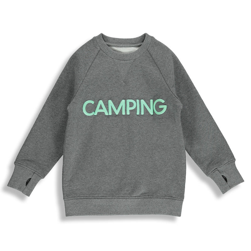 | GRAY | MAN CAMPING SWEAT
