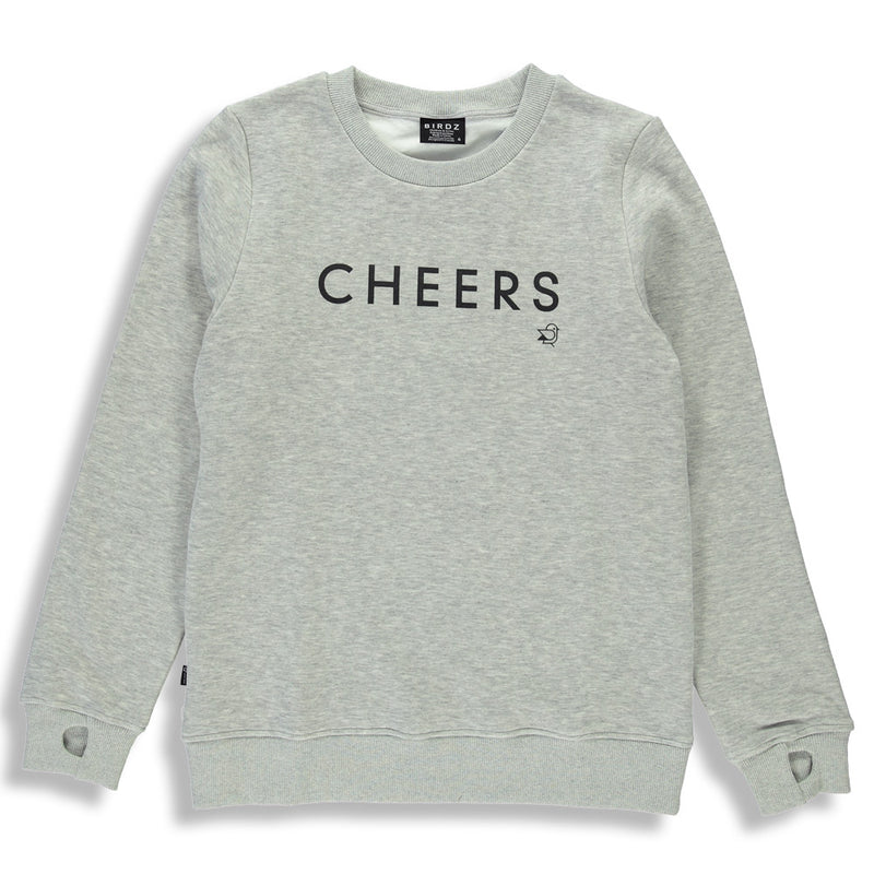 Gray CHEERS Sweat |Woman|
