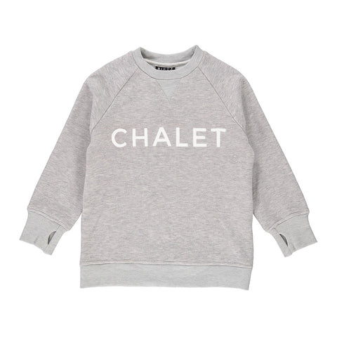 PRE-ORDER WOMAN | GRAY | CHALET SWEAT