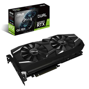 ASUS GeForce RTX 2080 O8G Dual-fan OC Edition