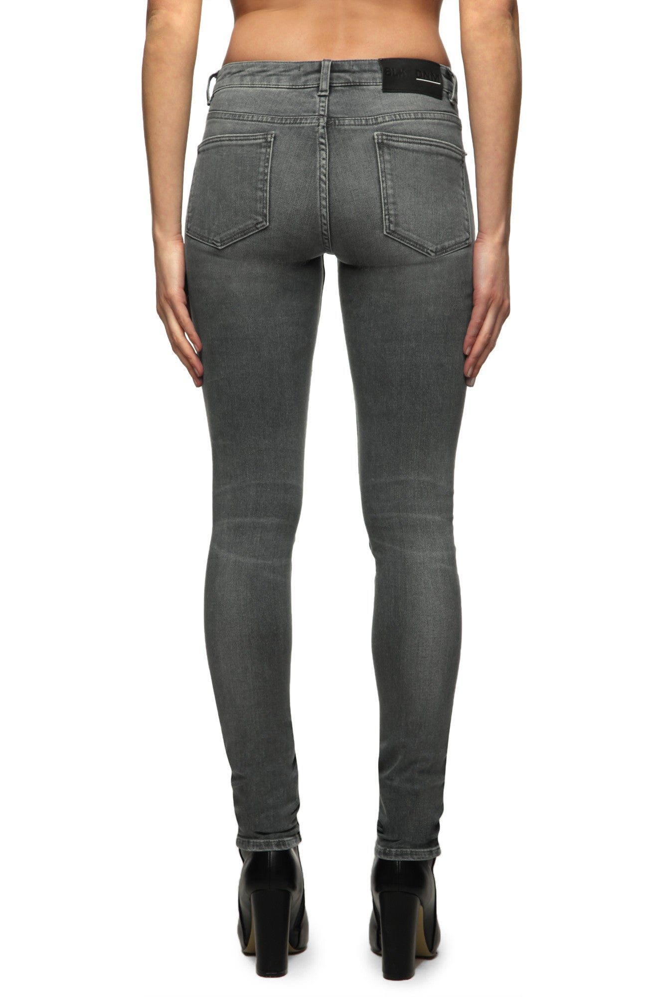 Womens Jeans 26 Hunts Grey