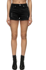 Womens Jean Shorts 16 Kingston Black