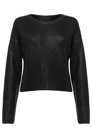 Womens Sweater 74 Black