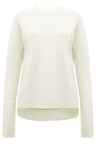 Womens Sweatshirt 85 Ash White