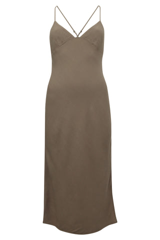 Womens Dress 13 Taupe