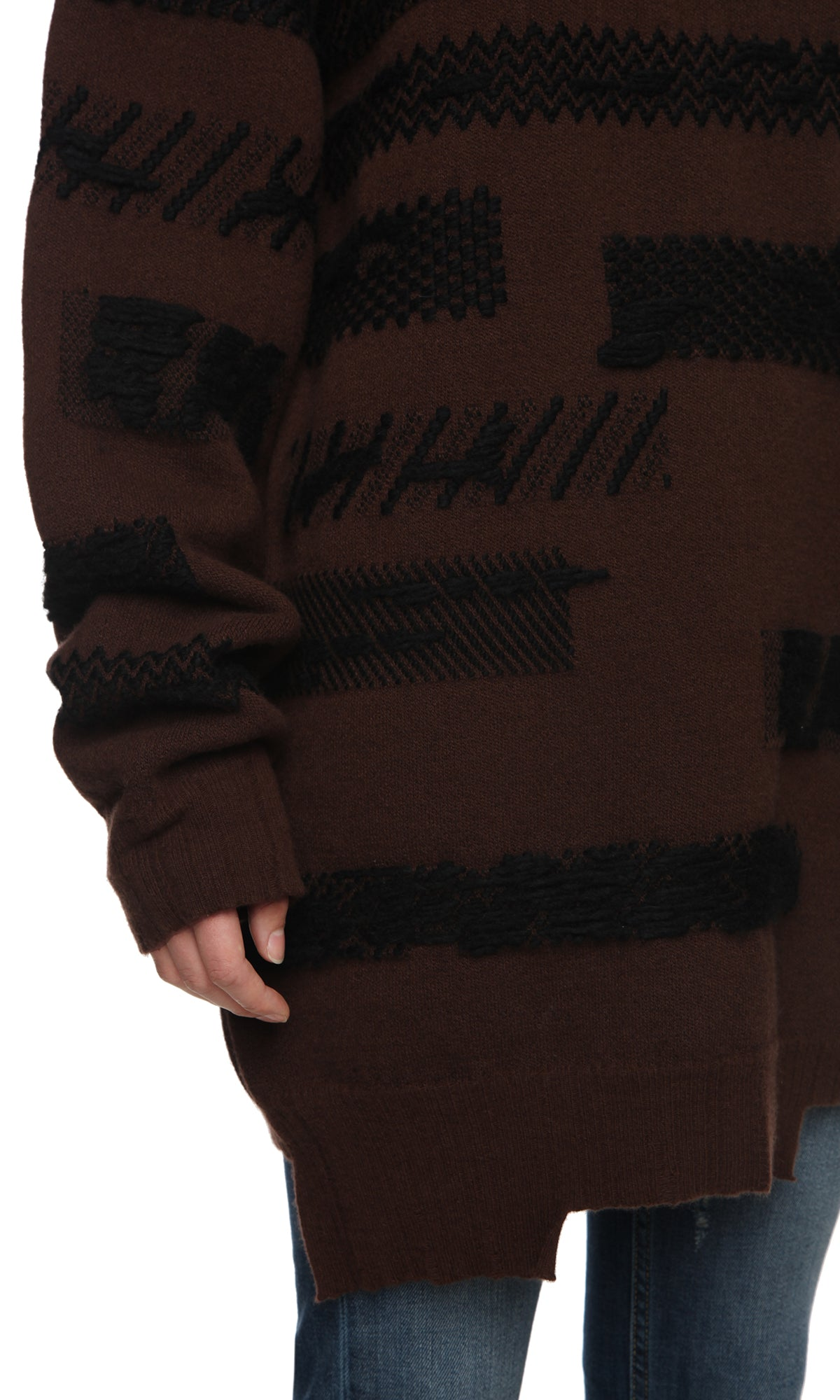 Womens Sweater 100 Brown