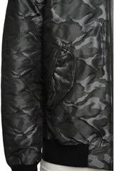 Mens Jacket 90 Camo Black
