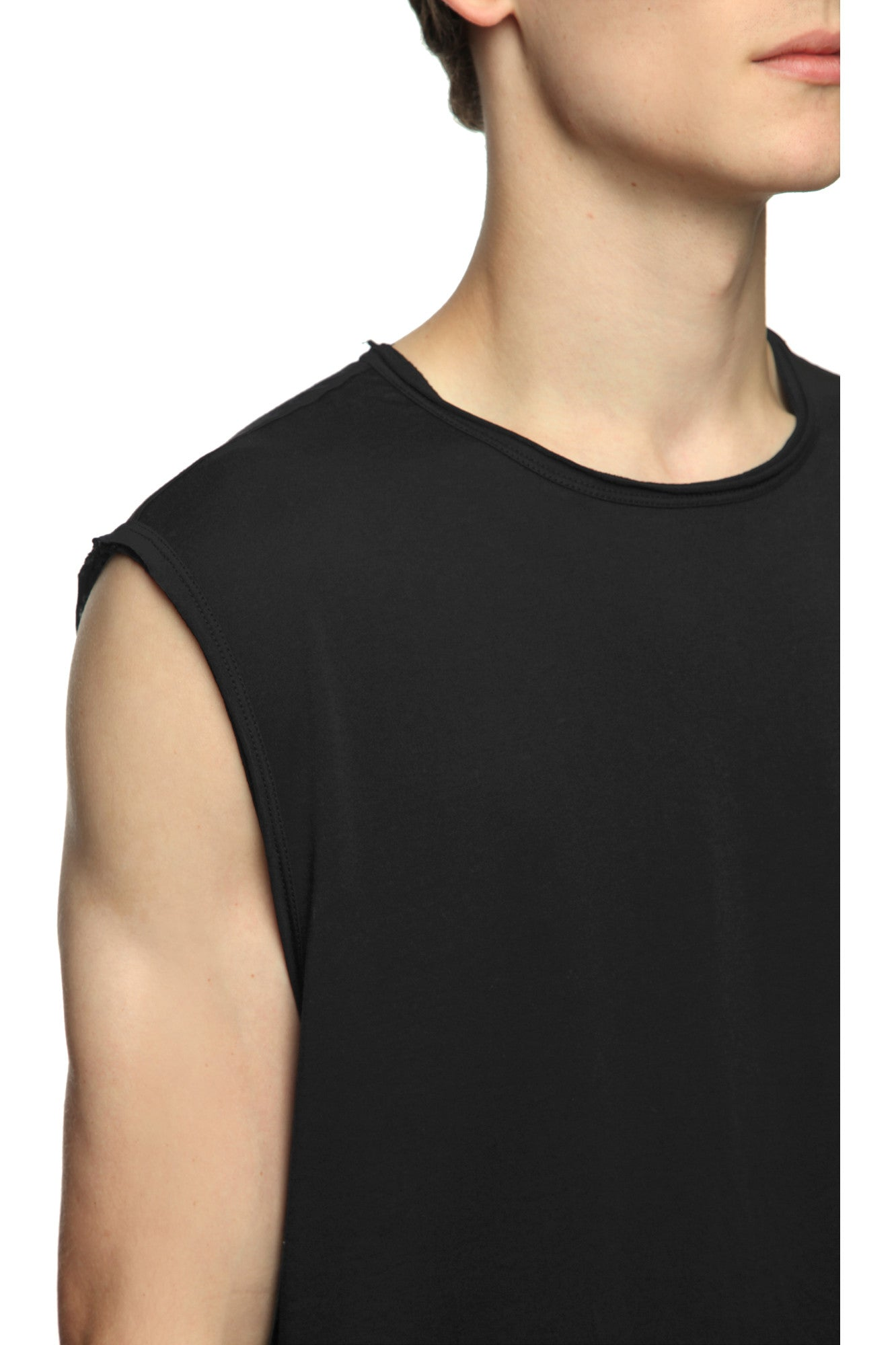 Mens T-Shirt 57 Faded Black