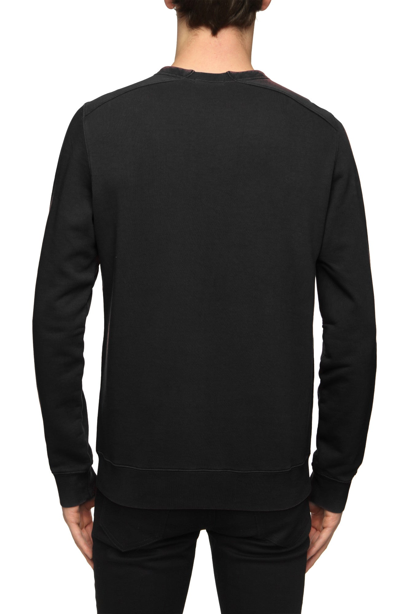 Mens Sweatshirt 29 Faded Black