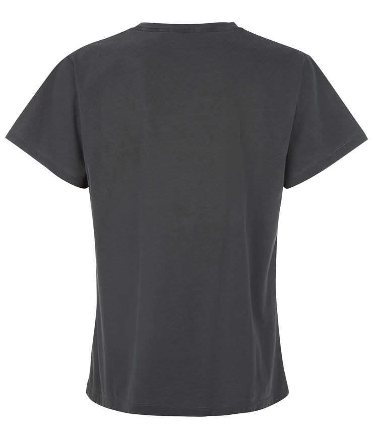 MENS EASY FIT PRINTED TEE CHARCOAL