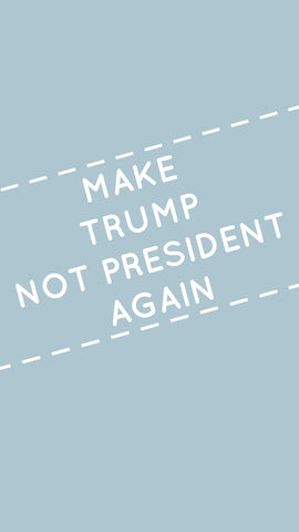 make trump not president again free iPhone wallpaper