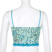 Animal Lace Cami Crop - Own Saviour - Free worldwide shipping