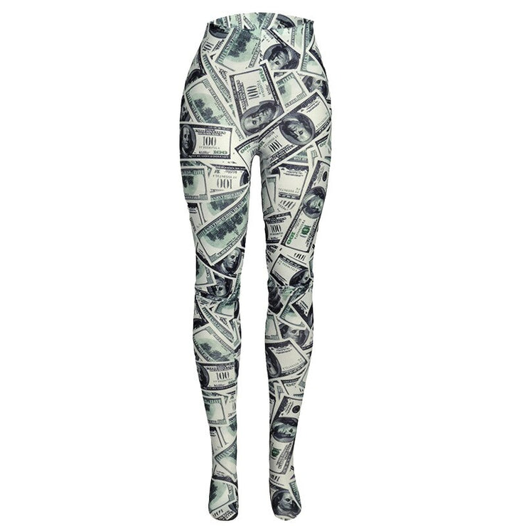 Dollar Leggings - Own Saviour - Free worldwide shipping