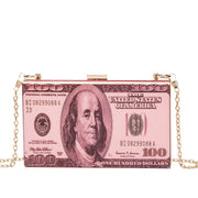 Transparent Dollar Clutch/Shoulder Bag - Own Saviour - Free worldwide shipping