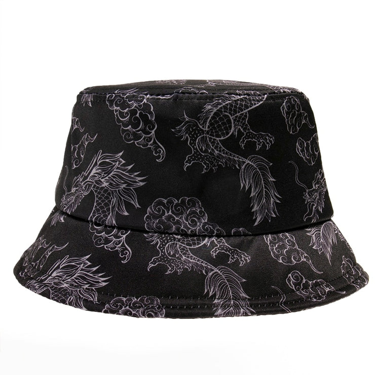 Black Dragon Bucket Hat - Own Saviour