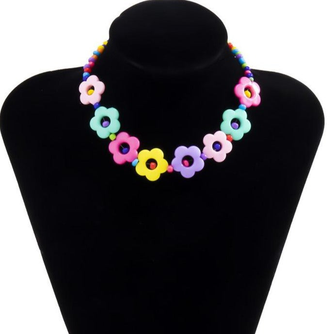 Flower Toy Choker Necklace - Own Saviour