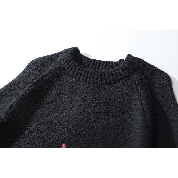 Oversize Flame Sweater Jumper - Own Saviour
