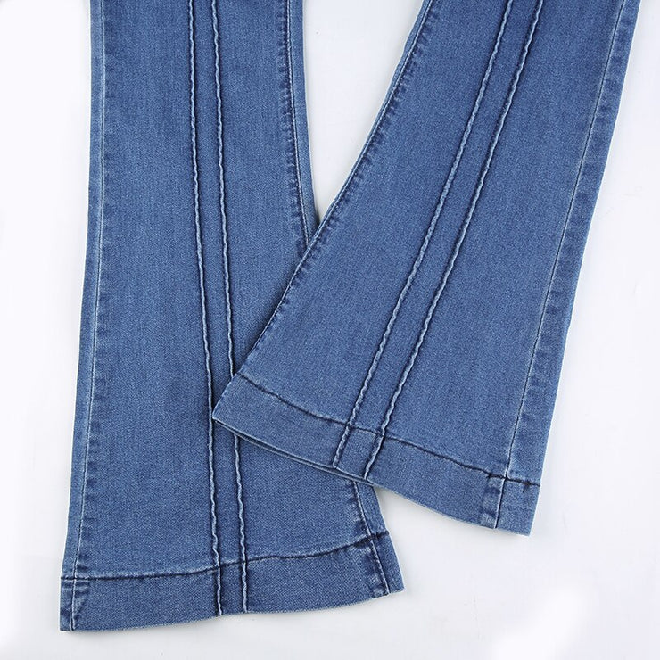 Y2K Flare Jeans - Own Saviour