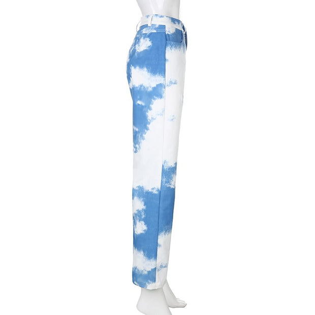 Tie Dye Jeans - Own Saviour - Free worldwide shipping