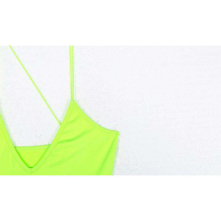 Neon Maxi Dress - Own Saviour - Free worldwide shipping