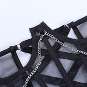 Chain Black Corset - Own Saviour