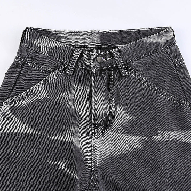Grey Tie Dye Jeans - Own Saviour