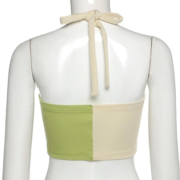 Splice Halter Crop - Own Saviour