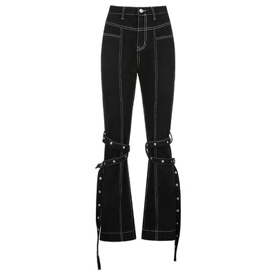 Rivet Wrap Jeans - Own Saviour - Free worldwide shipping