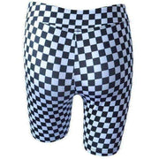 Alia Checkerboard Cycle Shorts - Own Saviour - Free worldwide shipping