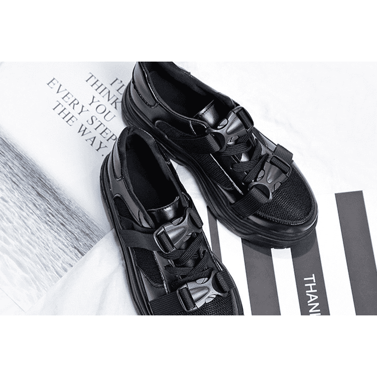 Buckle Platform Trainers - Own Saviour - Free worldwide shipping