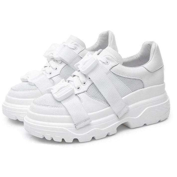 Buckle Platform Trainers - Own Saviour
